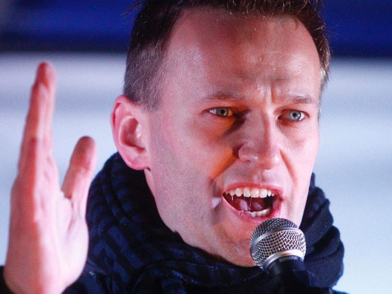 Rusija paskelbė Kremliaus kritiko A. Navalno federalinę paiešką
