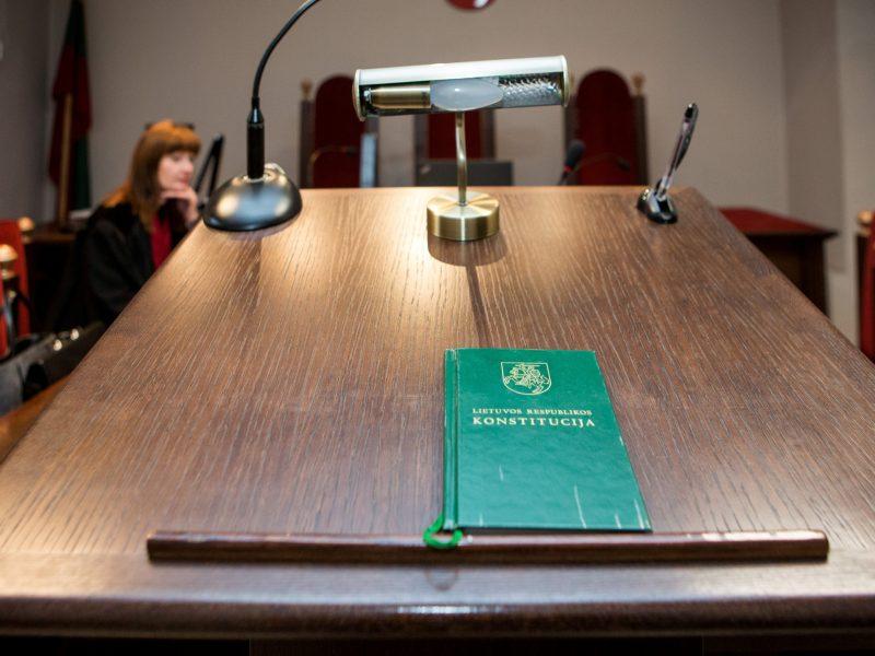 Teismui perduota Skuodo vyriausiojo architekto byla