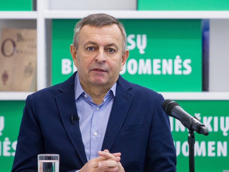 Buvęs Vilniaus meras V. Navickas su komanda pašalintas iš rinkimų