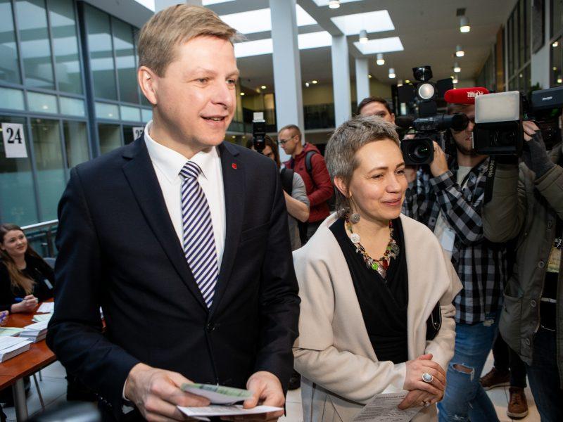 R. Šimašius tikisi, jog jį palaikys ir balsavusieji už A. Zuoką