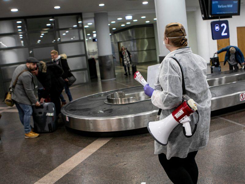 Lietuvos oro uostuose daugėja keleivių, bet atsigavimas gali užtrukti