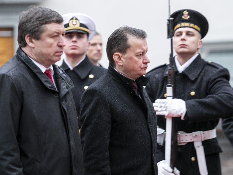 Susitiko Lietuvos ir Lenkijos gynybos ministrai