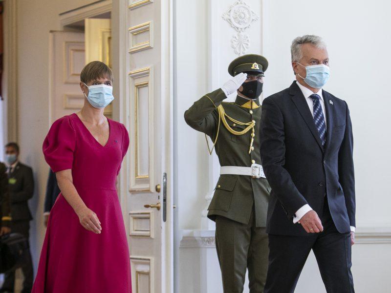 Į Lietuvą atvyko Estijos prezidentė