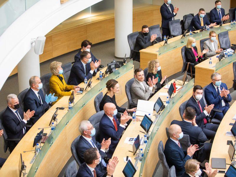 Seimo valdybos nariai apie privalomą parlamentarų testavimą: pritartume, reikia parodyti solidarumą