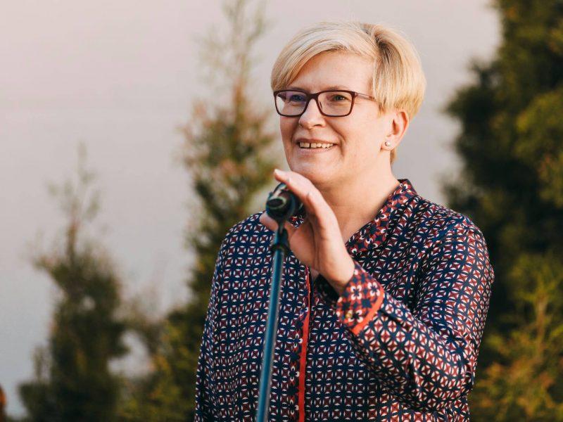 I. Šimonytė: Baltijos šalių pareiga – ne konkuruoti, o padėti Baltarusijos žmonėms