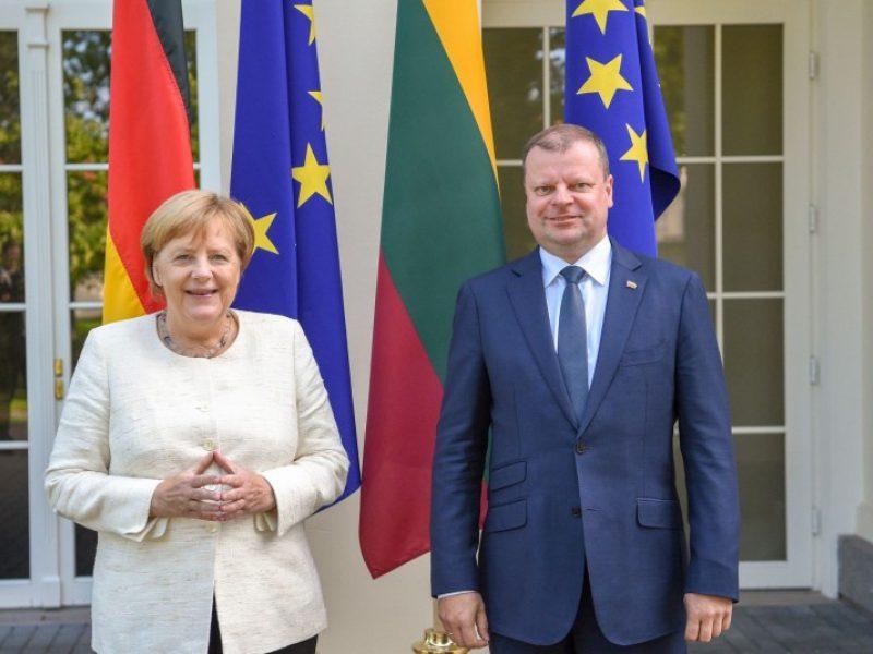 """S. Skvernelio žinia A. Merkel: laukiame Vokietijos prekybos tinklo """"Kaufland"""""""