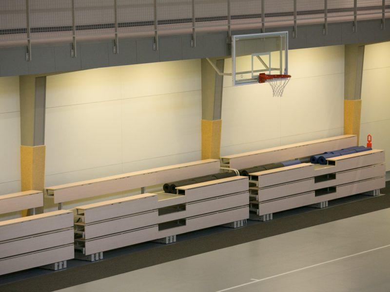 Ministerija parengė naujus reikalavimus mokyklų sporto salėms