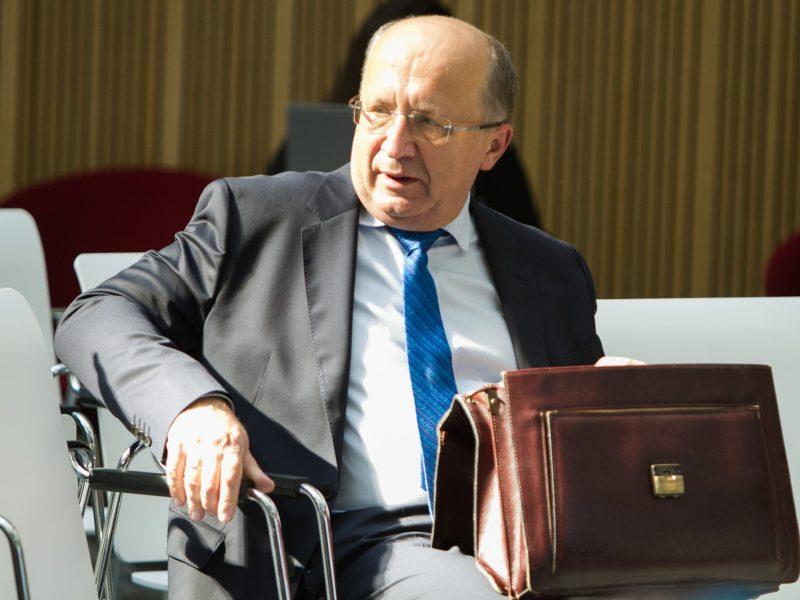Kandidatas vadovauti Europos Tarybai A. Kubilius prisistato šalių atstovams