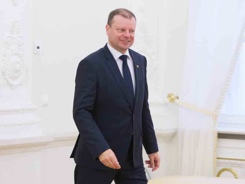 Premjeras S. Skvernelis registravosi prezidento kampanijai