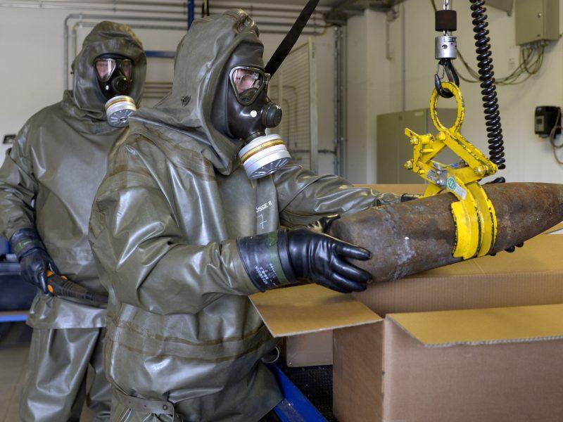 Cheminių ginklų būta ir Lietuvoje