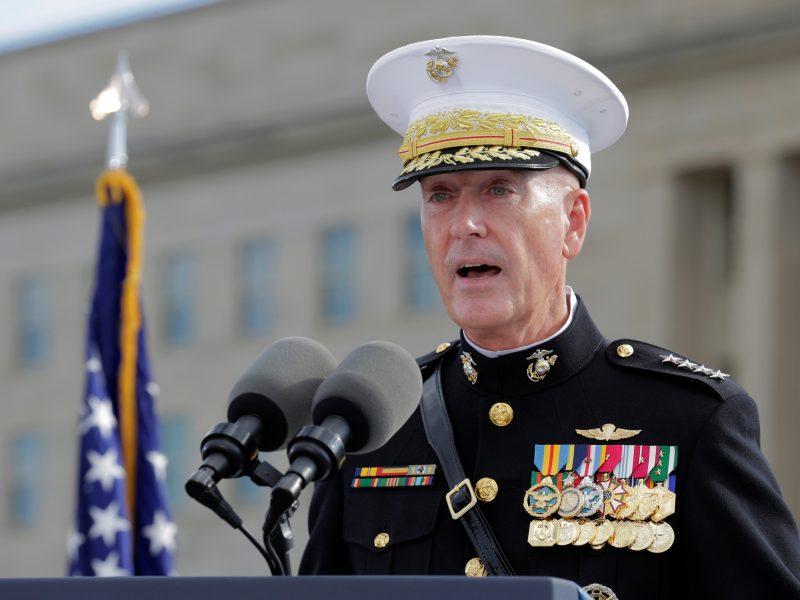 JAV kariuomenės vadas dėkoja Lietuvai už paramą kovojant su terorizmu