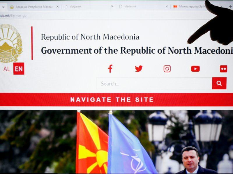 Makedonija oficialiai pervadinta Šiaurės Makedonija