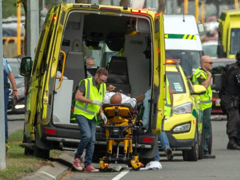 Naujojoje Zelandijoje – kruvina ataka mečetėse: žuvo mažiausiai 49 žmonės