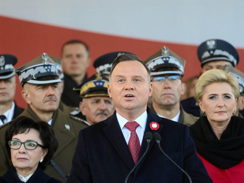 Lenkijos prezidentas atvyko į Lietuvą pagerbti sukilėlių vadų