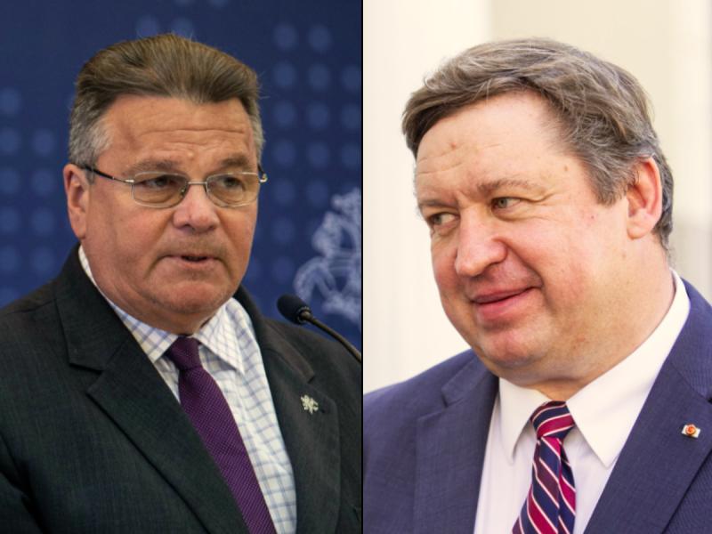 Buvę ministrai tęsia tarnybą Užsienio reikalų ministerijoje