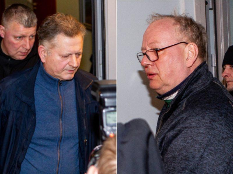 Dar du korupcijos byloje įtariami teisėjai neteks pareigų