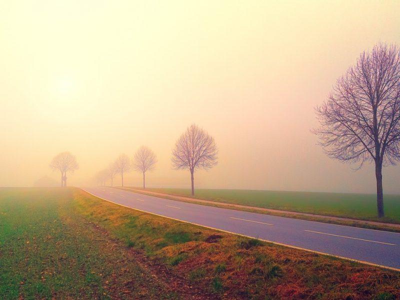 Vakarų ir šiaurės vakarų Lietuvoje eismo sąlygas sunkina rūkas