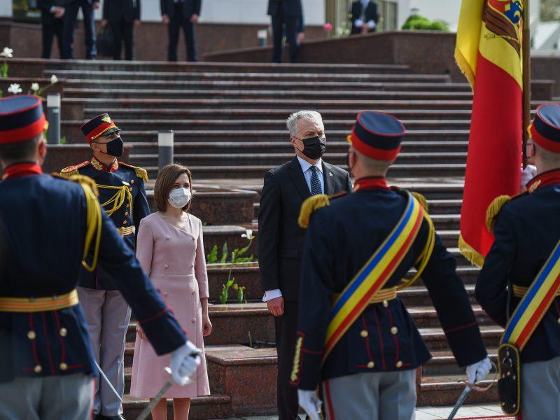 G. Nausėdos vizitas Moldovoje