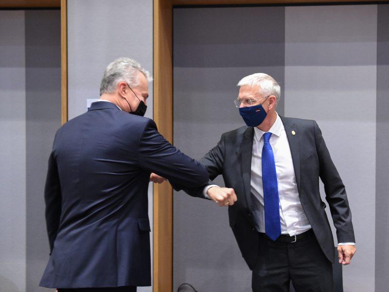 G. Nausėda susitinka su Šiaurės ir Baltijos šalių vadovais