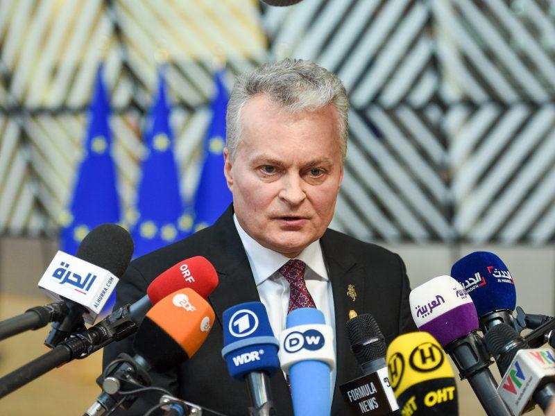 G. Nausėda – ES viršūnių susitikime