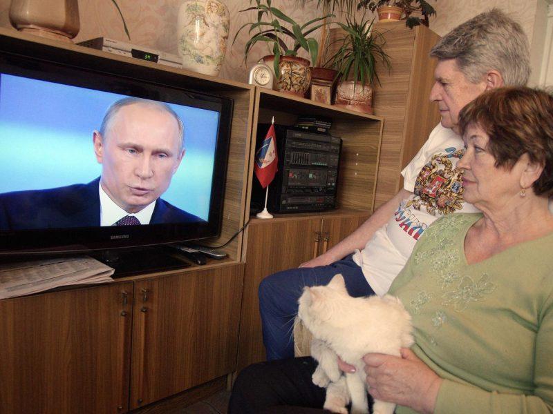 """Rusiškam kanalui """"RTR planeta"""" vėl gresia sankcijos"""