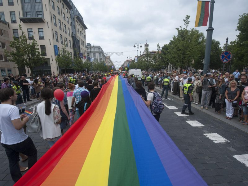 Vilniuje vyks LGBT eitynės už lygybę