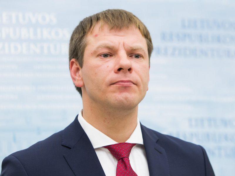 V. Šapoka: Muitinės departamento vadovo paieškos stringa dėl mažos algos