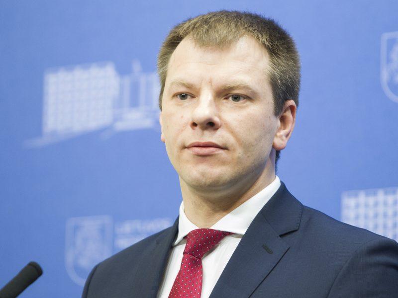 V. Šapoka: bankų mokestis gali turėti neigiamos įtakos vidaus paklausai