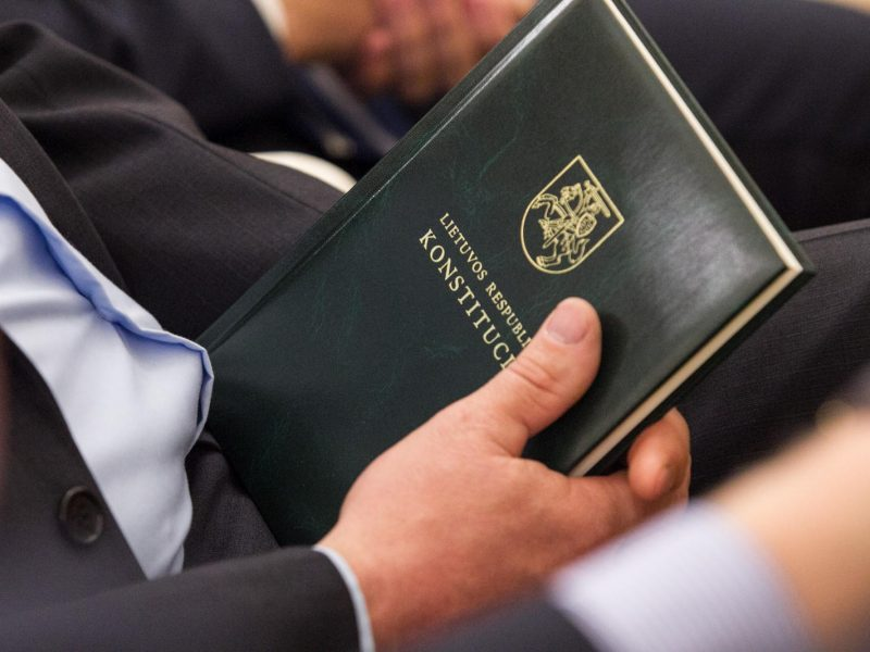 Seimas įteisino individualų konstitucinį skundą