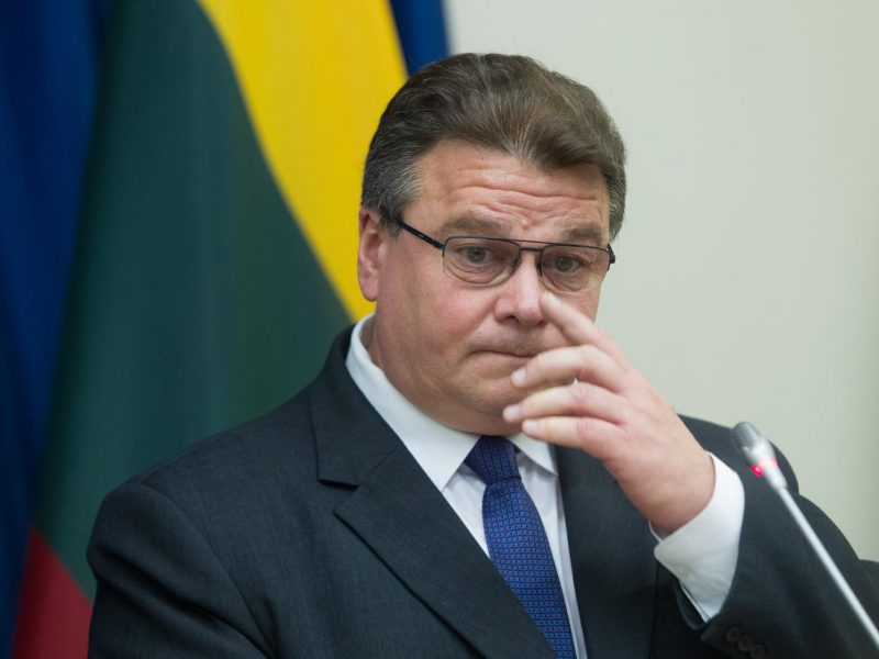 L. Linkevičius: Baltarusijos susitarimai su Rusija pavojingi Lietuvai