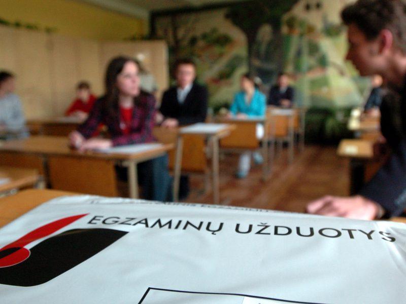 Po apeliacijos egzaminas tapo neišlaikytas