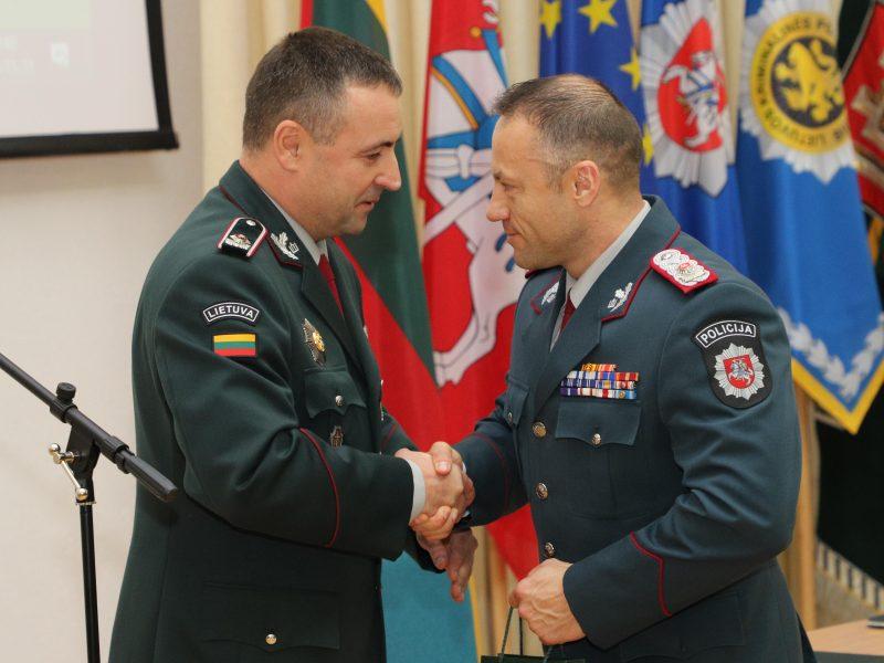 Policijos vadovo pareigas perima R. Požėla