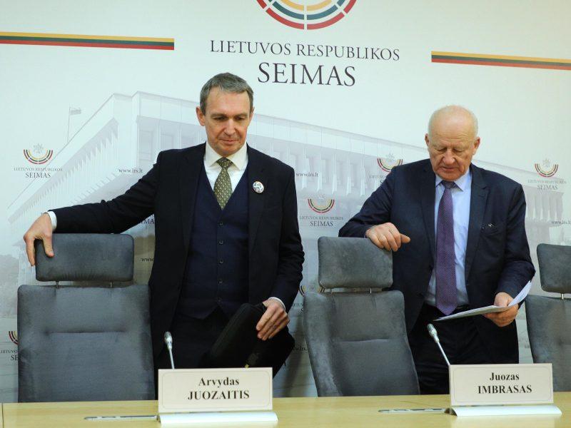 Naują judėjimą įsteigęs A. Juozaitis: Lietuva yra ant katastrofos slenksčio