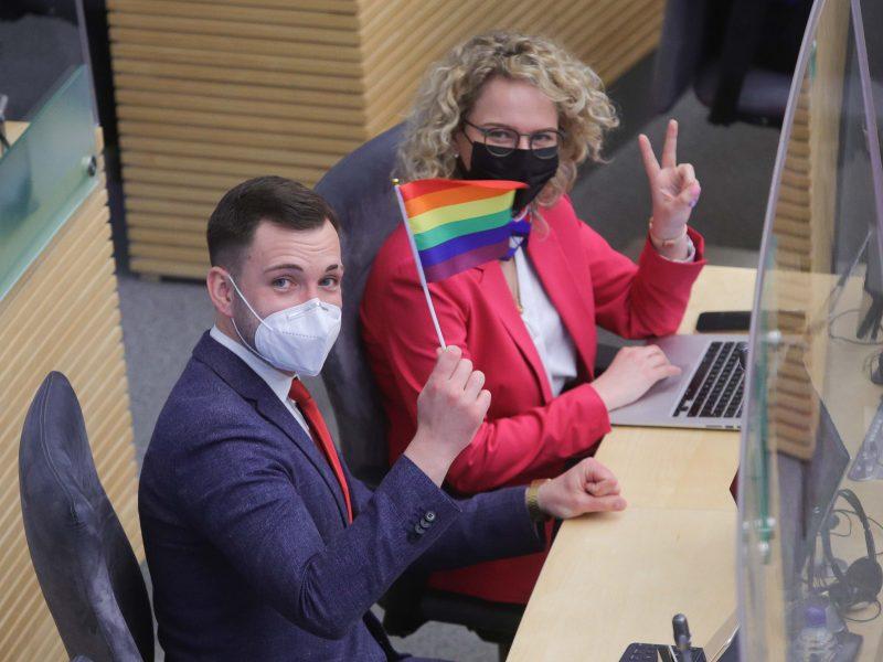 Politikai siūlo įteisinti lyčiai neutralią partnerystę, partneriai negalėtų įsivaikinti