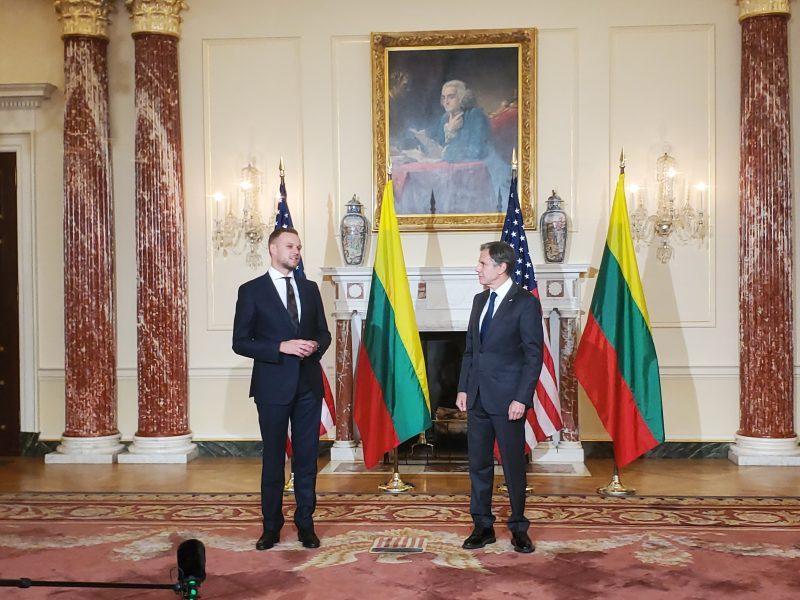 G. Landsbergis: Taivano atstovybės atidarymui Lietuvoje laukiama geriausios progos