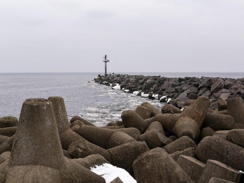 Jei leis oro sąlygos, Klaipėdoje prasidės bangolaužių rekonstravimo darbai