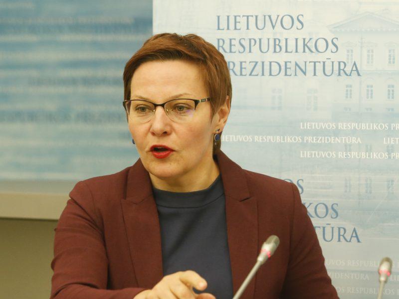 D. Grybauskaitės patarėja konsultuos Lietuvos bankų asociaciją