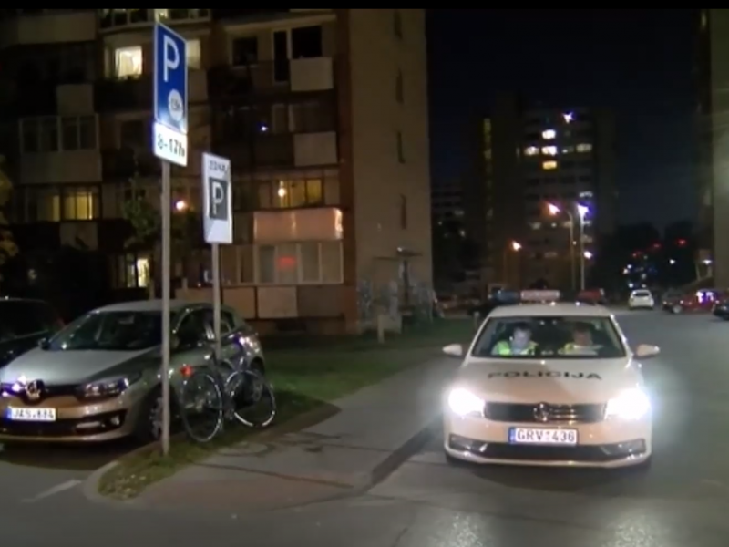 Vilniuje dviratininkas susidūrė su pėsčiąja