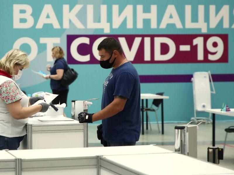 Rusijoje per parą nuo COVID-19 mirė 792 žmonės