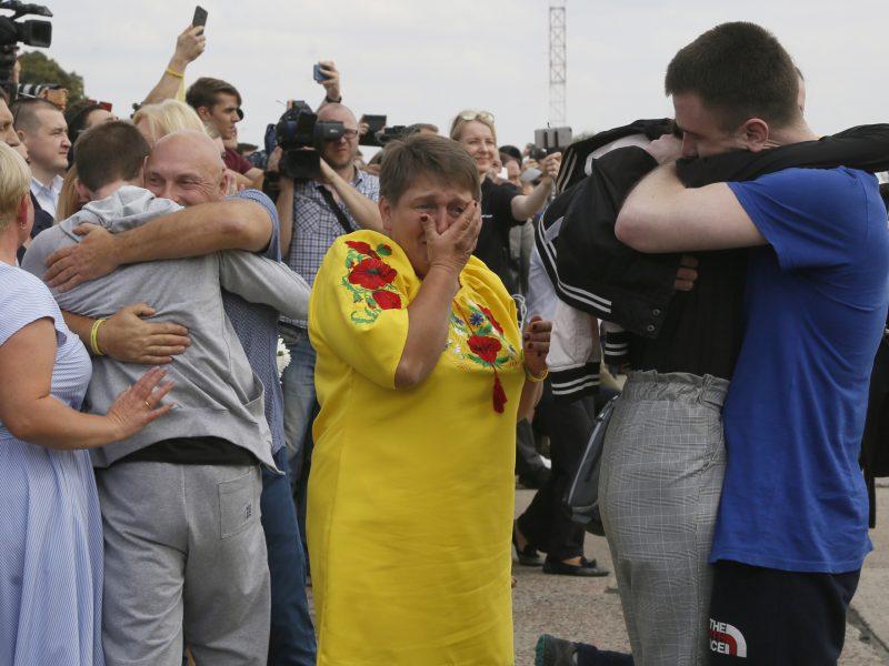 Ukraina vėl rengiasi didelio masto apsikeitimui kaliniais su Rusija