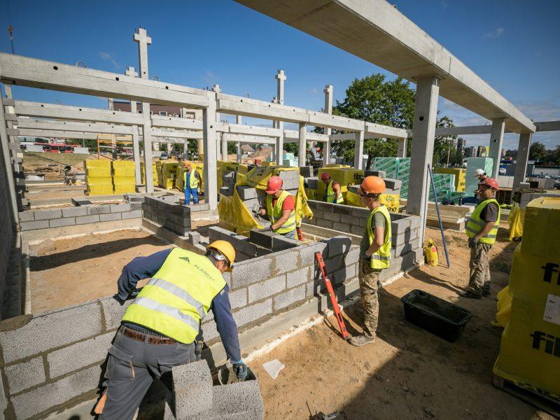 Žadama, kad netrukus Vilniuje iškils penkios naujos mokyklos