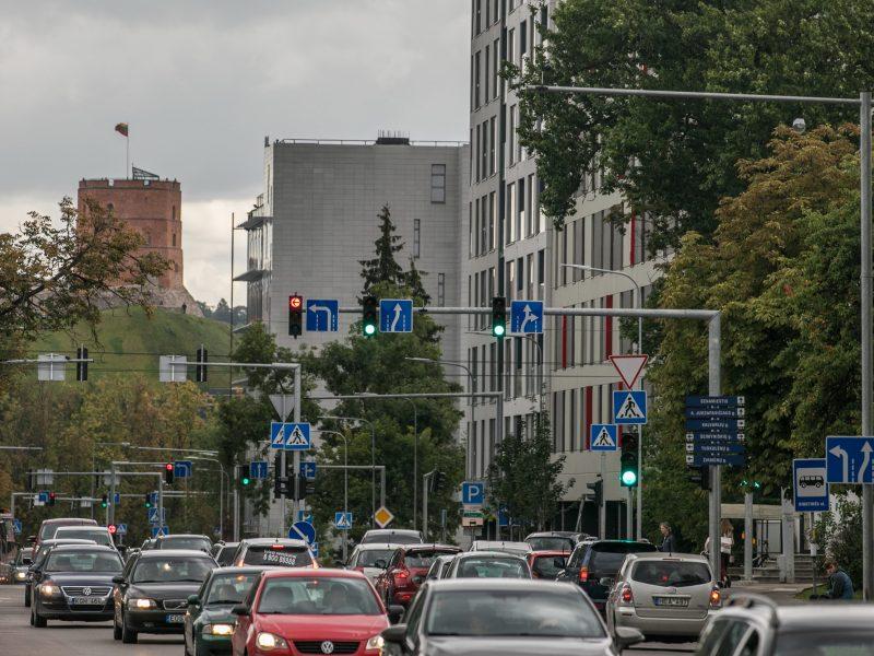 Vilnius aktyviai ruošiasi rugsėjo eismo iššūkiams