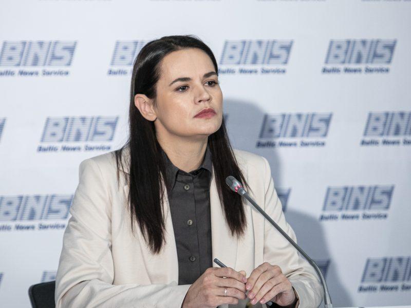 S. Cichanouskaja ragina Austriją tarpininkauti sprendžiant krizę Baltarusijoje