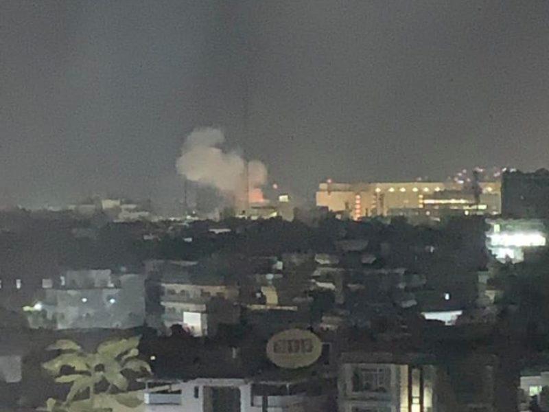 Kabule per rugsėjo 11-osios atakų metines prie JAV ambasados sprogo raketa