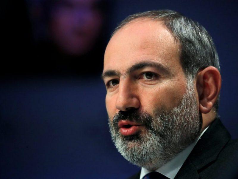 Armėnijos prezidentas pasirašė įsaką dėl N. Pašiniano skyrimo premjeru