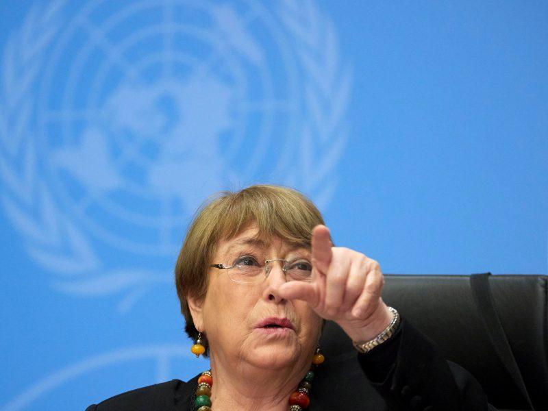 """JT: Baltarusijoje vykdomas susidorojimas su kitaminčiais """"visiškai nepriimtinas"""""""