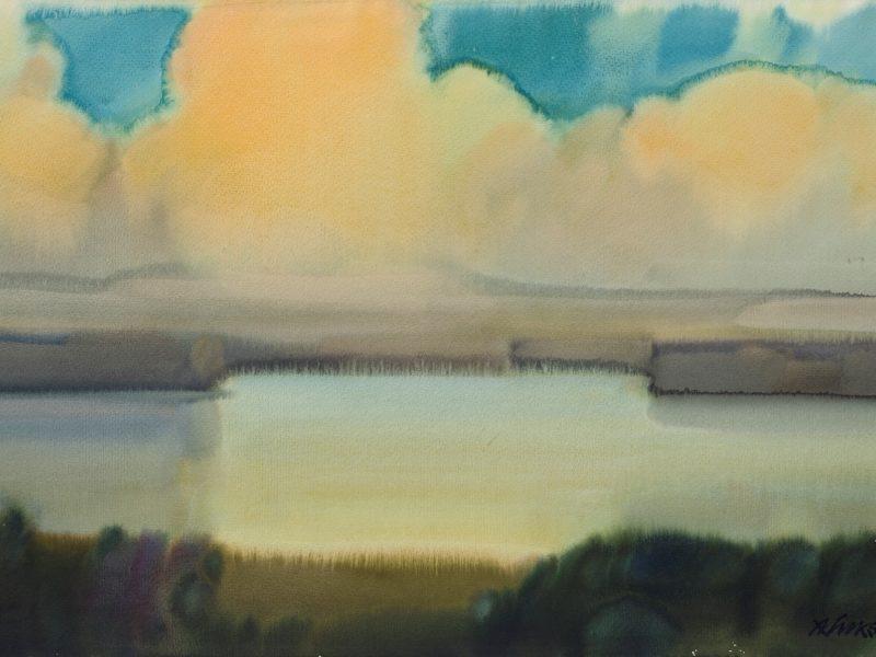 Minint 100-ąsias gimimo metines parodoje – dailininko A. Lukšto akvarelės poezija