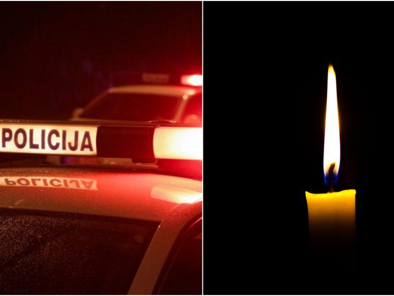 Panevėžio rajone žuvo nuo kelio nuvažiavusio vilkiko vairuotojas