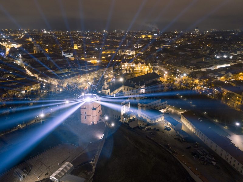 Kitoks Vilniaus 698-asis gimtadienis: saugiai smagios pramogos – namuose