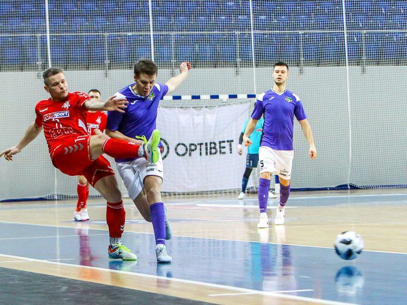 Lietuvos salės futbolo A lygos čempionate teisėjams padėjo vaizdo įrašas